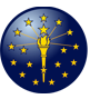 Indiana Governor Eric J. Holcomb Logo