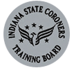 Indiana State Coroners Training Board Logo