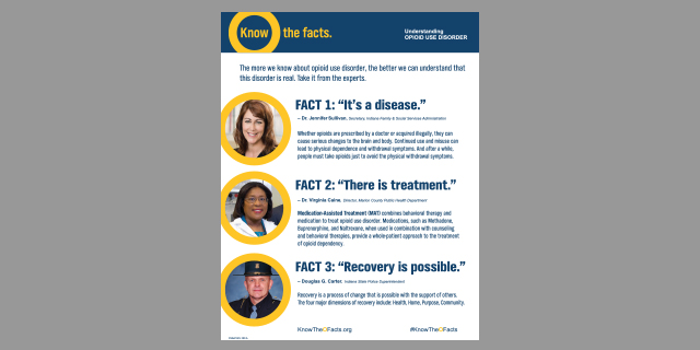 Opioid Use Disorder Fact sheet button