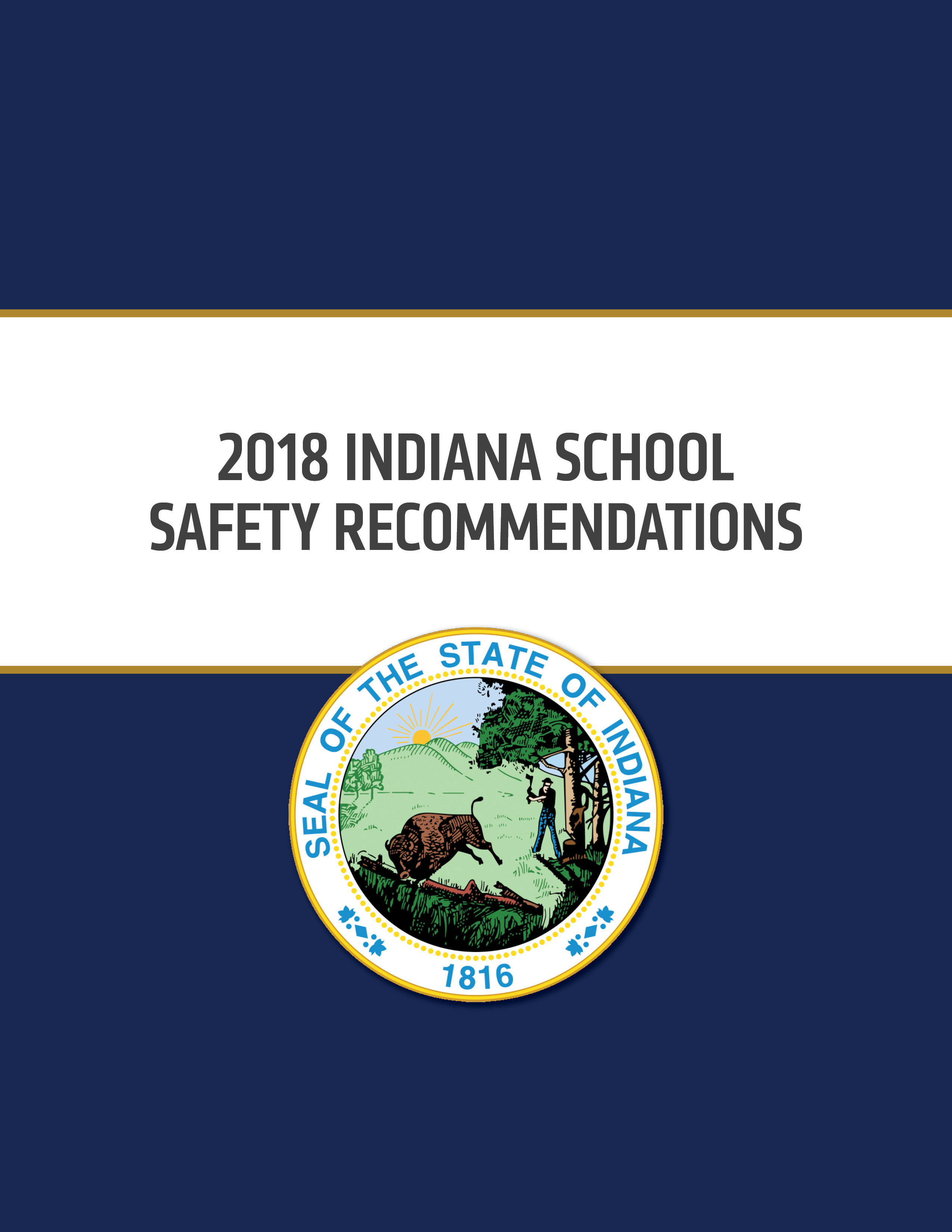 2018 Indiana School Safety Recommendations