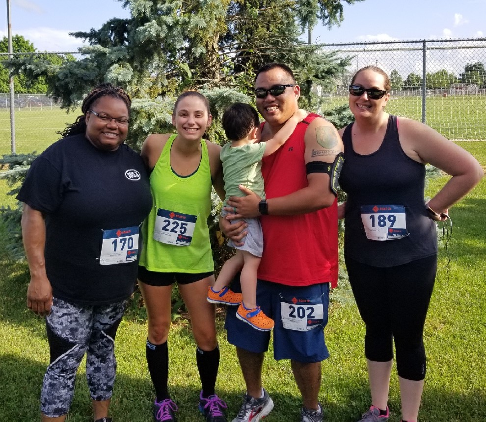 Fast Friends: DCS office bonds, gets healthy with 'fun runs' and 5Ks
